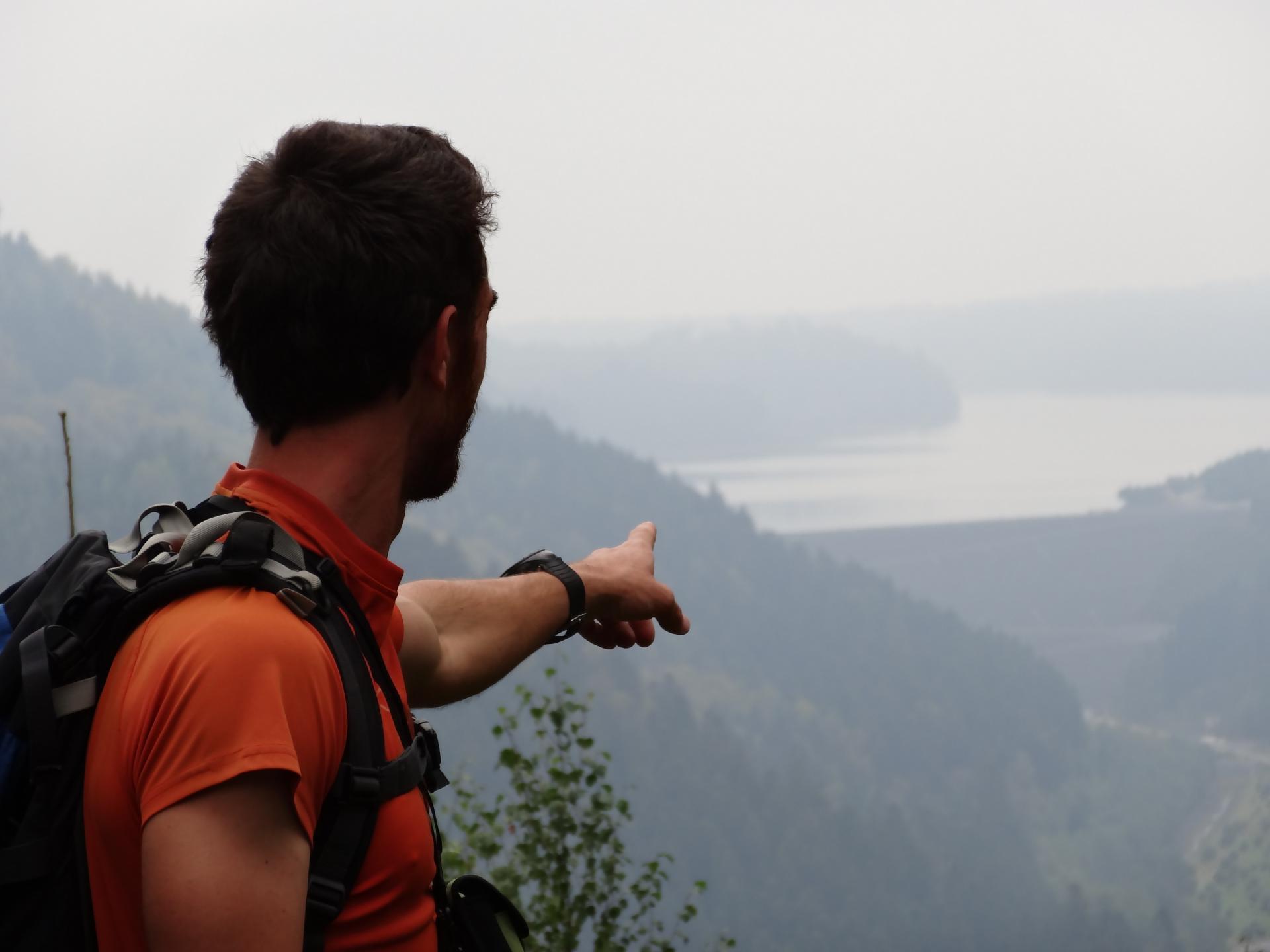 le barrage du lac de Pierre Percée